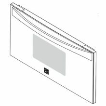 Frigidaire 5304503612 Wall Oven Microwave Door Outer Panel Assembly  White