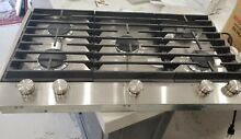 Jenn Air JGC1536BS 36  Stainless Gas Cooktop  NEW