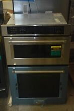 KitchenAid KOCE507ESS 27  Stainless Microwave Combo Wall Oven NOB  46042 HRT