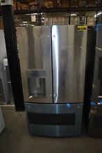 GE DFE28JSKSS 36  Stainless French Door Refrigerator NOB  38796 MAD