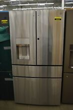 GE Profile PVD28BYNFS 36  Stainless French Door Refrigerator NOB  92620 HRT