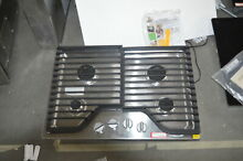 Whirlpool WCG51US0DS 30  Stainless Natural Gas Cooktop NOB  28873 MAD