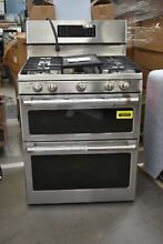 GE CGB550P2MS1 30  Stainless Double Oven Gas Range NOB  102275