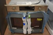GE Cafe CT9070SHSS 30  Stainless Single Electric Wall Oven  NOB  50861 HRT