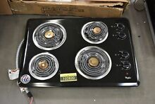 Whirlpool WCC31430AB 30  Black Electric Cooktop NOB  102820