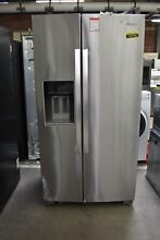 Whirlpool WRS571CIHZ 36  Stainless Side By Side Refrigerator NOB  102758