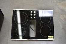 GE PP9830SJSS 30  Stainless Downdraft Electric Cooktop NOB  102949