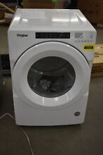Whirlpool WGD5620HW 27  White Front Load Natural Gas Dryer NOB  103386