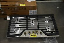 Whirlpool WCG55US6HS 36  Stainless Natural Gas Cooktop NOB  103639