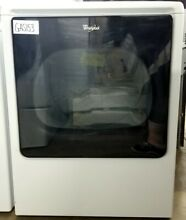 Whirlpool 8 8 CF 29  Gas Dryer with Touch Controls  White WGD8000DW GAS153