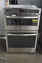 GE JK3800SHSS 27  Stainless Microwave Oven Combo Wall Oven NOB  104740