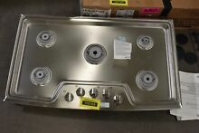 LG LCG3611ST 36  Stainless Natural Gas Cooktop NOB  105163