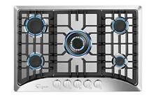 Empava 30  Gas Stove Cooktop with 5 Italy Sabaf Sealed Burners