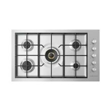 Fisher Paykel CG365DNGRX2 36  Stainless 5 Burner Natural Gas Cooktop