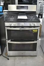 GE JGBS86SPSS 30  Stainless Gas Double Oven Convection Range NOB  105608