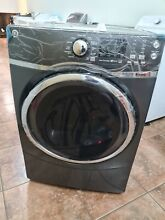 GE 7 5 CU FT GAS DRYER WITH STEAM   DIAMOND GRAY   GFD45GSPMDG