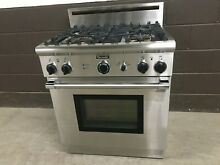 Thermador P304CS  30  Professional Gas Range Oven 4 Burner Stainless