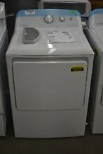 Hotpoint HTX24GASKWS 27  White Front Load Natural Gas Dryer NOB  106226