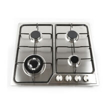 NEW 4 Burners Stainless Steel Built In Stove Top Gas Cooktop Kitchen Gas Cooking