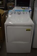 GE GTX42EASJWW 27  White Front Load Electric Dryer NOB  106247