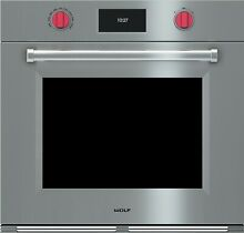 NEW  Wolf SO30PM S PH 30  M Series Convection Wall Oven  Stainless Steel   NEW