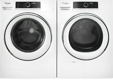 Whirlpool WFW5090JW 24  Compact Front Load Washer   WHD5090GW Electric Dryer