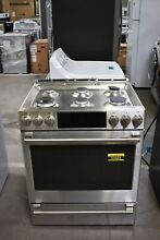 GE Cafe CGS700P2MS1 30  Stainless Slide In Gas Range NOB  92683 HRT