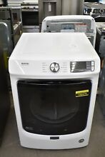 Maytag MGD5630HW 28  White Front Load Natural Gas Dryer NOB  106476