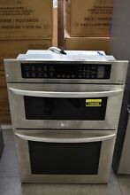 LG LWC3063ST 30  Stainless Microwave Oven Combo Wall Oven NOB  106496
