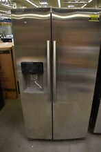 Samsung RS25J500DSR 36  Stainless Steel Side By Side Refrigerator NOB  107279