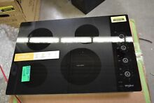 Whirlpool WCE55US0HB 30  Black 4 Element Electric Cooktop NOB  32989