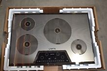 Thermador CIT304KM 30  Silver Mirrored Finish Induction Cooktop NOB  35059