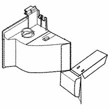 Frigidaire 5304478956 Wall Oven Microwave Magnetron Air Guide Genuine OEM part