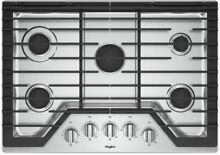 Whirlpool WCG77US0HS 30  Stainless 5 Burner Gas Cooktop  44864 HRT