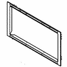 Frigidaire 318930307 Wall Oven Microwave Door Frame  Stainless  Genuine OEM part