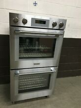 Thermador PO302W   Double Wall Oven Built In PRO Stainless Steel