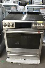 GE Cafe CES700P2MS1 30  Stainless Slide In 5 Element Electric Range NOB  113121