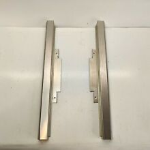 KitchenAid Built In Microwave Left   Right Trim Stainless Steel 1 3 8  Wide OEM