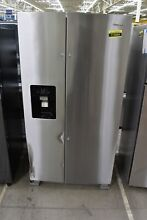 Whirlpool WRS325SDHZ 36  Stainless Steel Side By Side Refrigerator NOB  113664