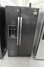 Whirlpool WRS588FIHV 36  Black Stainless Side By Side Refrigerator NOB  114189
