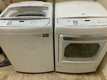 LG Washer and Gas Dryer set with steam option