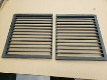 Pair of Jenn Air GRILL GRATES for Downdraft Cooktop Range 205395   bghtthr5t