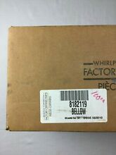 8182119 or WP8182119 Whirlpool Washer Door Boot Seal   BRAND NEW OEM