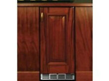 Perlick 15  Indoor Stainless Wine Reserve w integrated wood overlay  HP15WS 3 2R