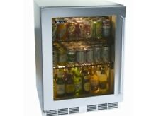 Perlick 24  Signature Series Outdoor SS Glass Door Refrigerator  HP24RO 3 3R