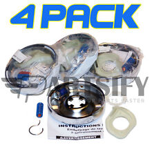 4 PACK 285785 PS334641 AP3094537 WASHER  CLUTCH FITS WHIRLPOOL KENMORE