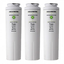EveryDrop Whirlpool UKF8001 EDR4RXD1 4396395 FILTER4 46 9006 Water Filter 3 Pack