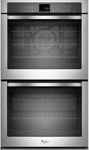 Whirlpool 30  Double Electric Wall Oven with convection WOD93EC0AS
