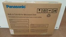 PANASONIC NN TK611S GENUINE ORIGINAL BUILT IN MICROWAVE TRIM KIT SURROUND NEW