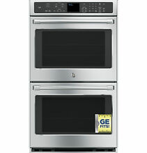 New GE CAF  Series Stainless 30  Built in Double Convection Wall Oven CT9550SHSS